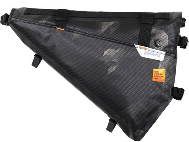 WOHO X-Touring Bolsa seca de cuadro M, negro